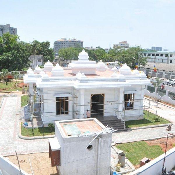 சிவாஜி மணிமண்டபத்தை திறந்துவைக்கவுள்ளார் அமைச்சர் கடம்பூர் ராஜூ..!