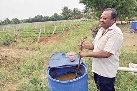 சவால் விட்ட ரசாயனம்... சாதிக்க வைத்த ஜீரோ பட்ஜெட்...