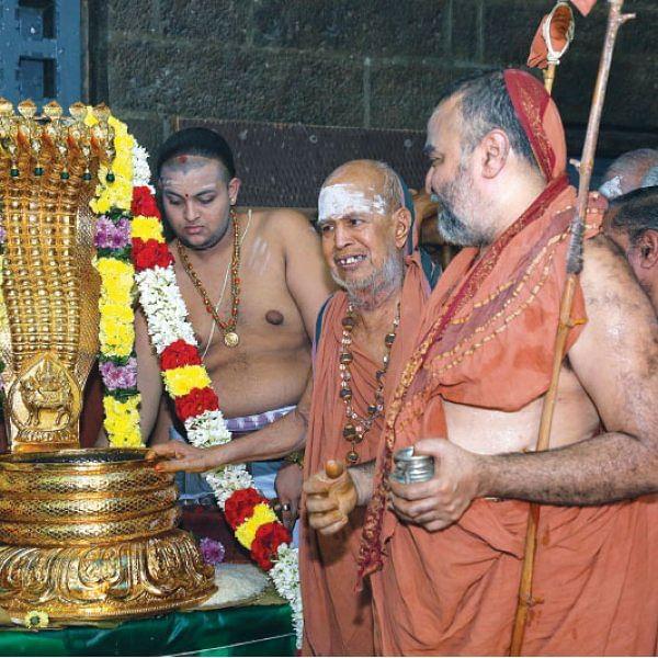 விழாக்கள்... விசேஷங்கள்! - ஸ்ரீகபாலீஸ்வரருக்கு தங்க நாகாபரணம்!