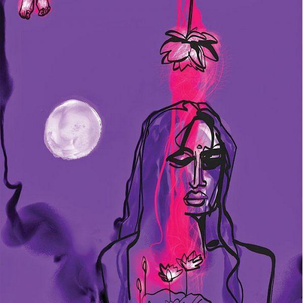 சாதியின் நடுவே காதல் வளர்ப்பவள் - கவிதை