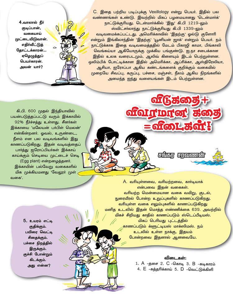chutti Vikatan - 16 June 2006 - விடுகதை+விவரமான கதை=விடைகள்! |