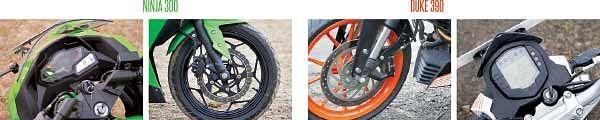 கவாஸாகி நின்ஜா 300 Vs கேடிஎம் டியூக் 390