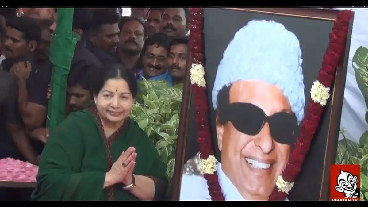 Jaya Returns - After 8 months first Public Appearance | MGR Statue | Jayalalithaa