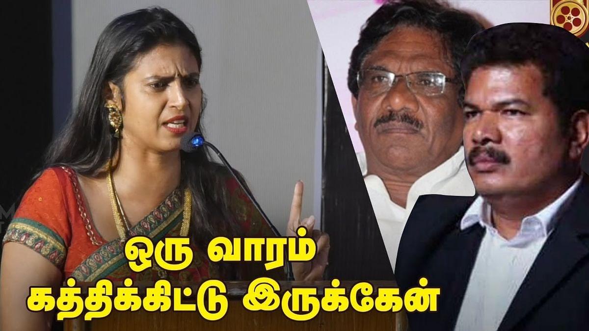 Kasthuri Blasts Director Bharathiraja & Shankar | Controversial Speech