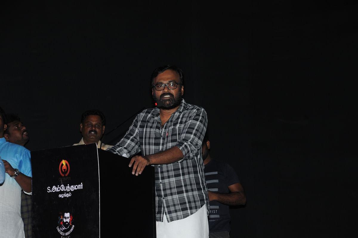 Karu Palaniappan at Gypsy audio launch