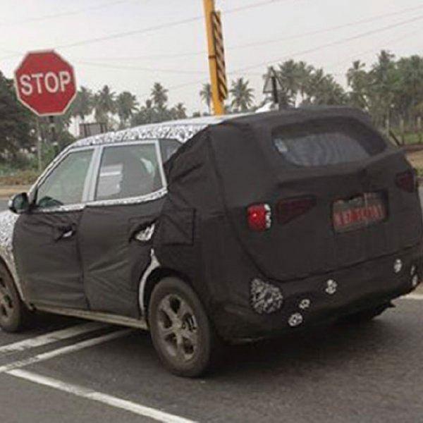 SPY PHOTO - ரகசிய கேமரா - கார்லினோ... இது ஹூண்டாயின் புதிய எஸ்யூவி!