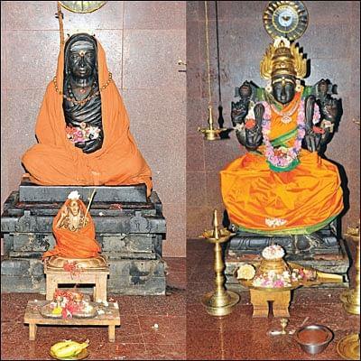 காவிரிக் கரையில்... காஞ்சி மாமுனி ஆசிரமம்!