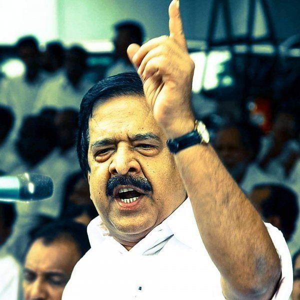 கேரள எதிர்க்கட்சித் தலைவர் ரமேஷ் சென்னிதலா