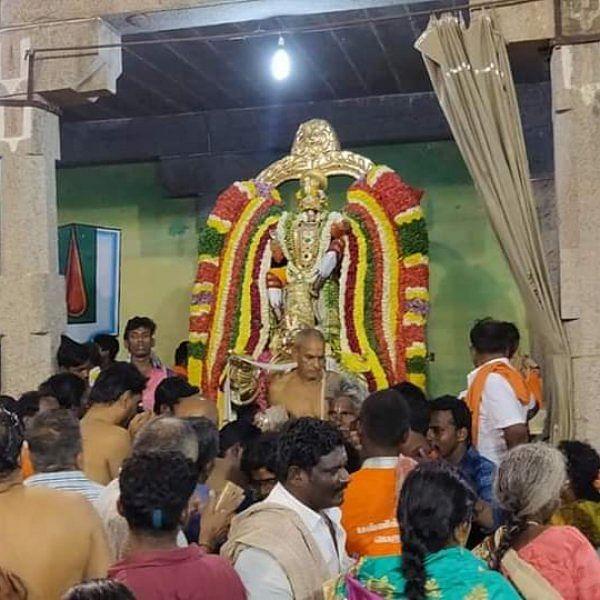 திருநாங்கூரில் 11 கருட சேவை வைபவம்... ஏராளமான பக்தர்கள் தரிசனம்