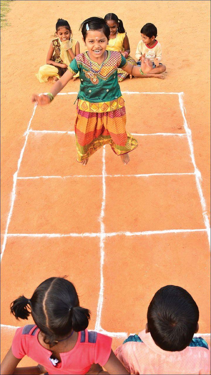 கோலிக்குண்டு, பல்லாங்குழி, பாண்டி... ஆட்டமெல்லாம் ஆரோக்கியம்!