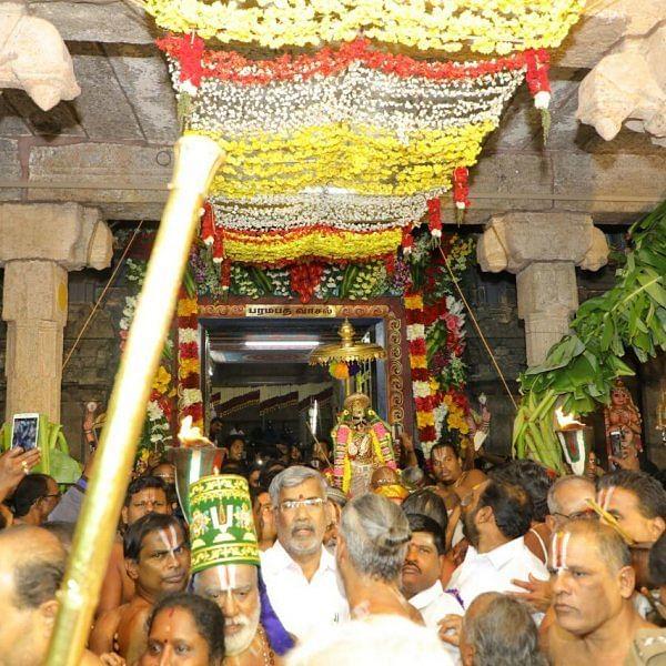 `நான்கு டி.எஸ்.பி... 400 போலீஸ்' - பார்த்தசாரதி கோயில் சொர்க்க வாசல் திறப்பு ஏற்பாடுகள் தீவிரம்