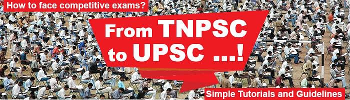 Look at these in world map - From TNPSC to USPC