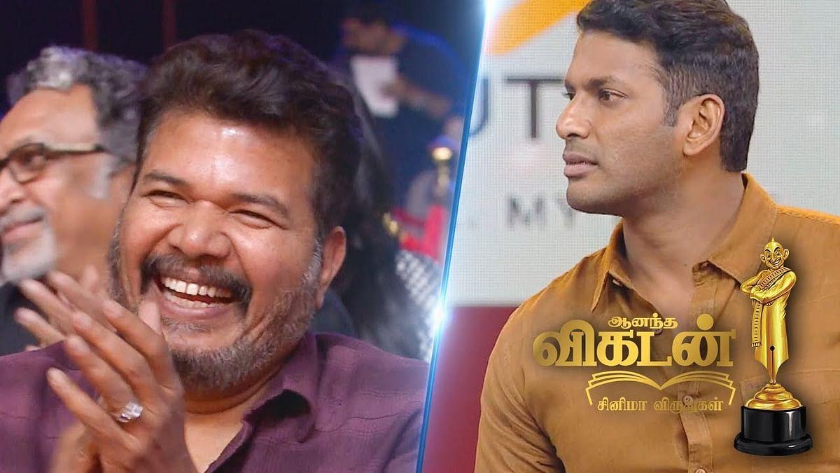 GUESS What is Vishal's Choice of his Election Symbol? | Ananda Vikatan Cinema Awards 2018 Promo