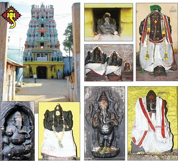 புஷ்பவனக்காசியில் 14 விநாயகர்கள்!