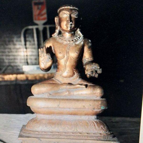 காஞ்சிபுரம் கச்சியப்பர் சிலை காணாமல்போன வழக்கில் அர்ச்சகர் கைது!