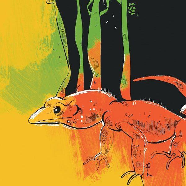 வரலாற்றுப் புகழ்மிக்க உடும்பு - மௌனன் யாத்ரிகா