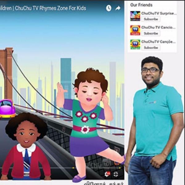 'வால்ட் டிஸ்னிதான் இன்ஸ்பிரேஷன்!' - யூ- டியூப் சக்சஸ் கதை சொல்கிறார் ChuChu Tv வினோத்சந்தர் #VikatanExclusive
