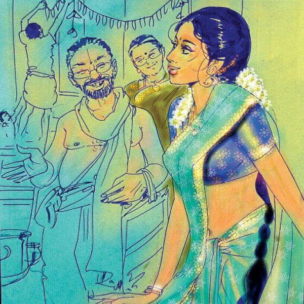 மனுஷி -  அம்மி மிதித்தலும் அருந்ததி பார்த்தலும்!