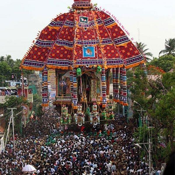 ஆயிரம் ஆண்டுகளுக்கும் மேலாக உருளும், அருளும் ஆரூர் அழகுத் தேர்! | Tiruvarur Chariot festival. Chariot has been rolling over a thousand years! - Vikatan