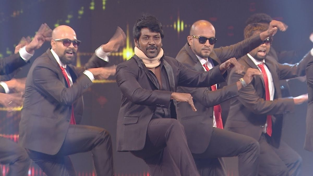 Rocking performance by Lawrence & Brother | Ananda Vikatan Cinema Awards 2016