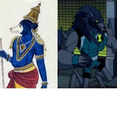 அட, பென் 10 கதாபாத்திரங்களுக்கு இந்தியக் கடவுள்கள்தான்   இன்ஸ்பிரேஷனா?