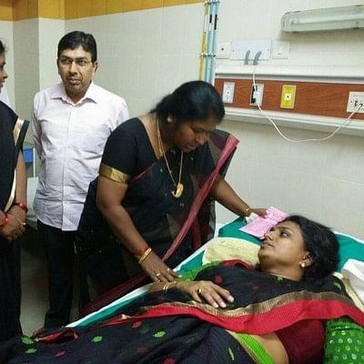 ஆந்திரா மருத்துவமனையில் நடிகை ரோஜா திடீர் அனுமதி!