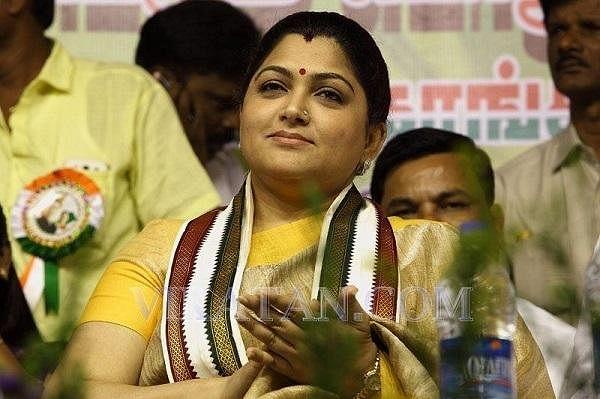`` `சின்னத்தம்பி' ரீமேக், 33%, அரசியல் மனநிலை!'' - குஷ்பு ஷேரிங்ஸ்