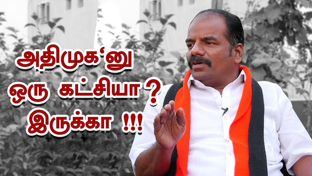 ADMK is Zero in R.K Nagar !   DMK Candidate Marudhu Ganesh Interview
