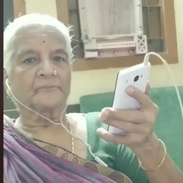 `பேட்ட' ரஜினிக்கே டஃப் ஃபைட் கொடுக்கும் 'டிக்டாக்' பாட்டி!