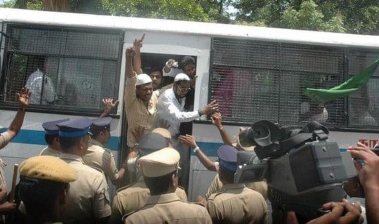 ஆம்பூர் சம்பவம் : எஸ்.பி அலுவலகத்தை முற்றுகையிட முயன்றவர்கள் கைது!