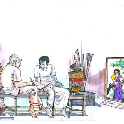 மரத்தடி மாநாடு: மின்சாரத் தட்டுப்பாடு...  தவிக்கும் டெல்டா விவசாயிகள்!