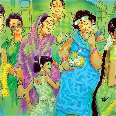 மனுஷி - 12 - பூ வாசம் புறப்படும் பெண்ணே!