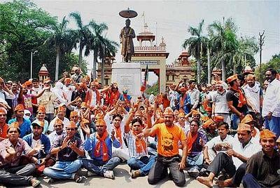 வாரணாசி கூட்டம்:  பா.ஜனதா புகார்; தேர்தல் ஆணையம் விளக்கம்!