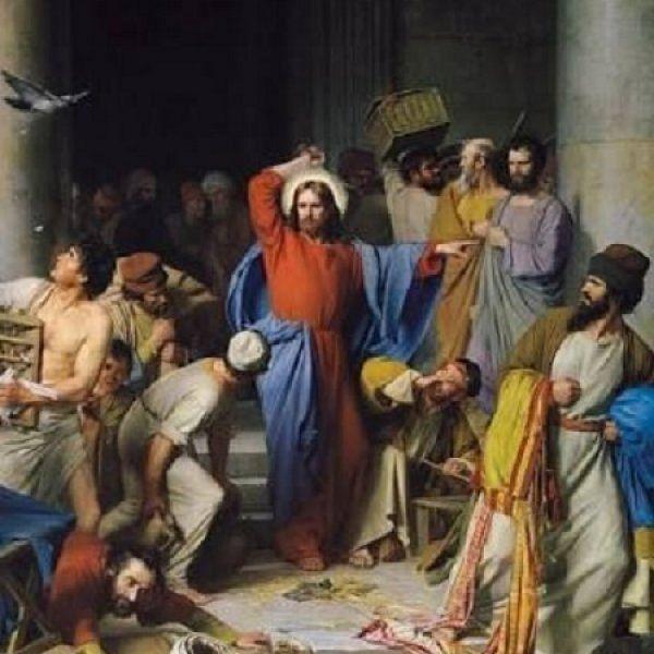 ``என் தந்தையின் இல்லத்தை சந்தை ஆக்காதீா்கள்'' - இயேசு கிறிஸ்து #LentDays