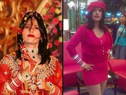 நான் மினி ஸ்கர்ட் அணிந்ததில் தவறு இல்லை... கொதித்த பெண் சாமியார் ராதே மா!