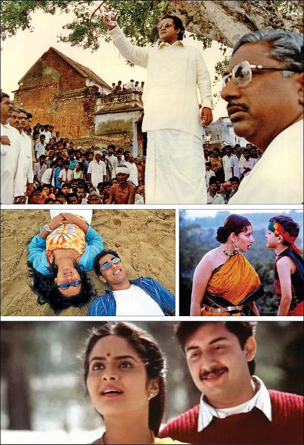 Thadam Vikatan - அரசியல் சினிமாக்களும், சினிமாக்களின் அரசியலும் | Politics Based Movies In Tamil Cinema - Vikatan Thadam