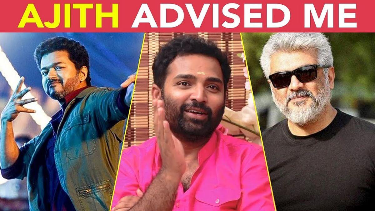 Ajith Appreciated Vijay's Song - Dance Master Shobi | Sarkar