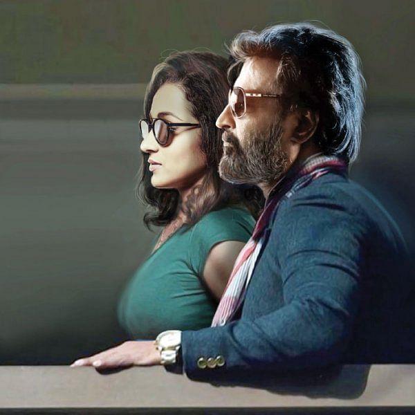 ரஜினியின் ஜோடி த்ரிஷா!