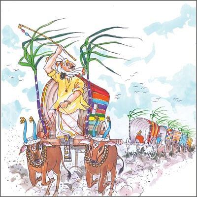 மண்புழு மன்னாரு: மாடுகளை மகிழ்விக்கும் 'ஆதீண்டு குற்றி' !