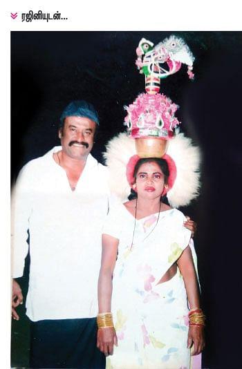 ரஜினி கொடுத்த அஞ்சாயிரம் ரூபாயை மறக்க மாட்டேன்! - கரகாட்டக் கலைஞர் ஞானாம்பாள்
