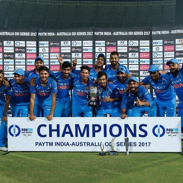 ரோஹித் ஆட்டநாயகன், பாண்டியா தொடர் நாயகன்; இந்தியா மீண்டும் முதல் இடம்!