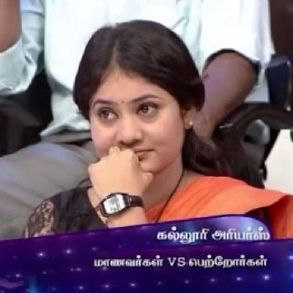 ஆவரேஜ் ஸ்டூடண்ட் முதல் விஜய் சேதுபதி வரை..! கலகல 'நீயா நானா' திவ்யா டீச்சர் #VikatanExclusive