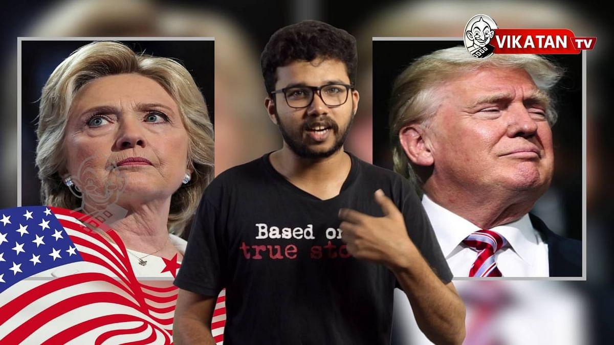 Donald trump vs Hillary clinton   U.S.Elections 2016   Democrats   Republicans  