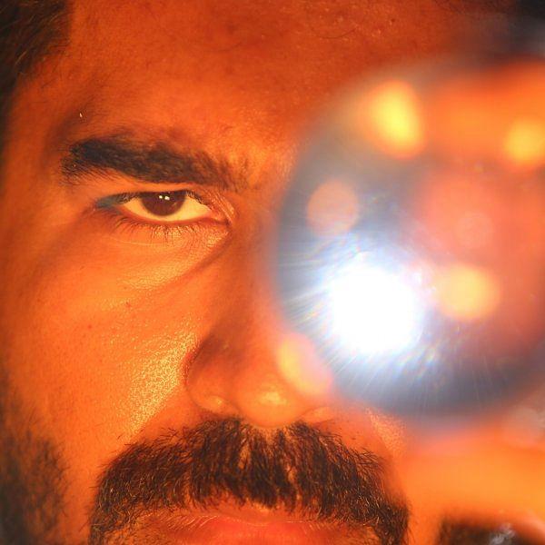 விஜய் ஆண்டனி, அர்ஜுன் நடிப்பில் வெளியாகும் 'கொலைகாரன்' திரைப்பட ஸ்டில்ஸ்