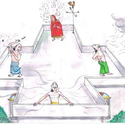 மண்புழு மன்னாரு: வடக்கு வாசல் வீடும், தெற்கு திசை தென்றலும்..!