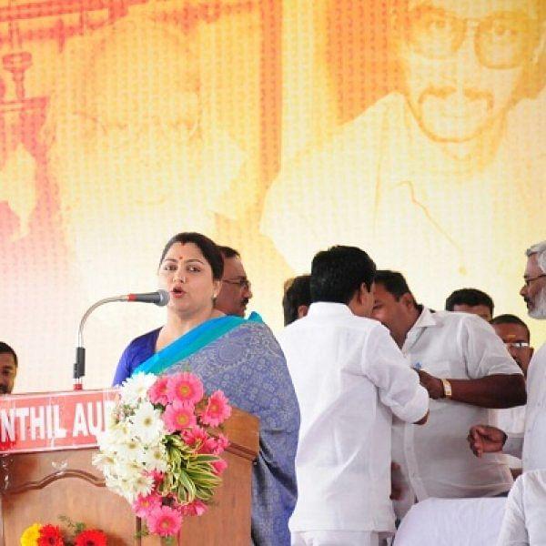 2019-ல் ஸ்டாலின் முதல்வர்; ராகுல் பிரதமர் - குஷ்பு நம்பிக்கை!
