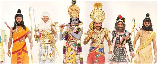 'சோட்டா' பீமன், 'டோரா' பாஞ்சாலி, 'ஆங்ரி பேர்டு' அர்ஜுனன், 'சப்வே' சகுனி!