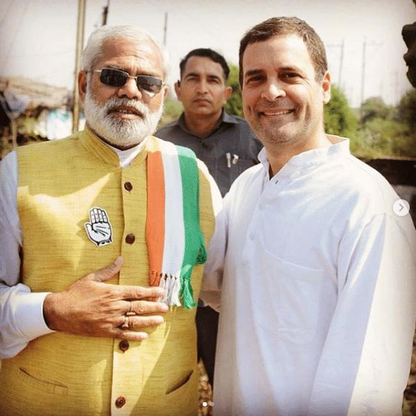`யாருடன் இருக்கிறேன் பார்த்தீர்களா?'- ராகுல் காந்தி பகிர்ந்த புகைப்படம்!