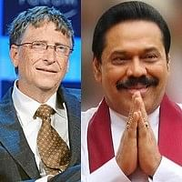 உலக தலைவர்களுக்கு சிறந்த முன்மாதிரி ராஜபக்சே: சொல்கிறார் பில்கேட்ஸ்