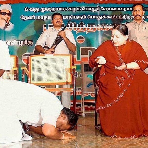 ஜெயலலிதாவின் 'கால்' நுாற்றாண்டு அரசியல்! #VikatanPhotoCards